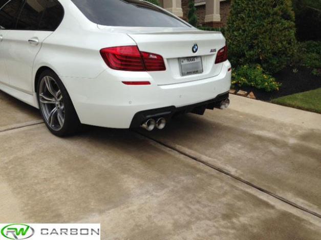 RW-Carbon-Fiber-DTM-Rear-Diffuser-BMW-F10-M5-White-1