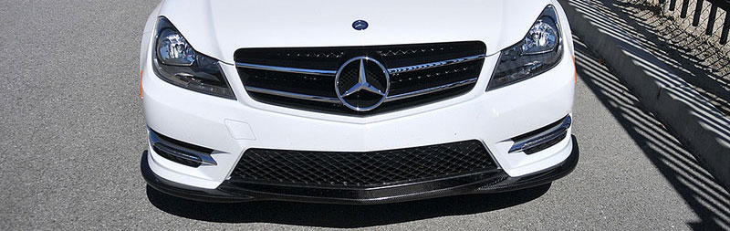 Installation guidelines for carbon fiber aero parts for Accessories for mercedes benz c class
