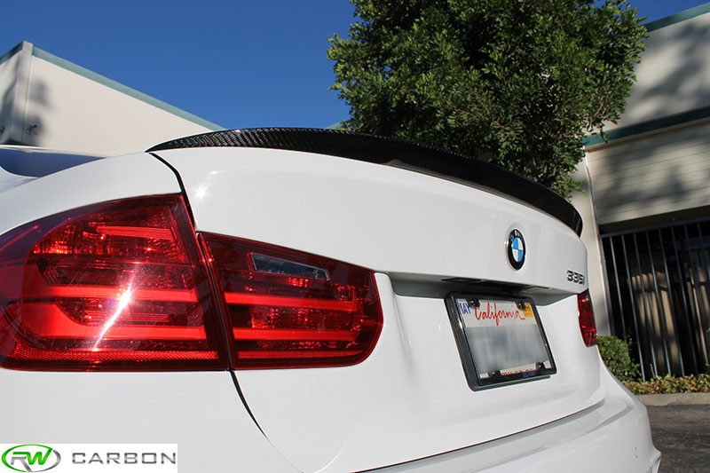 Customer Install Bmw F30 Performance Style Trunk Spoiler Welcome