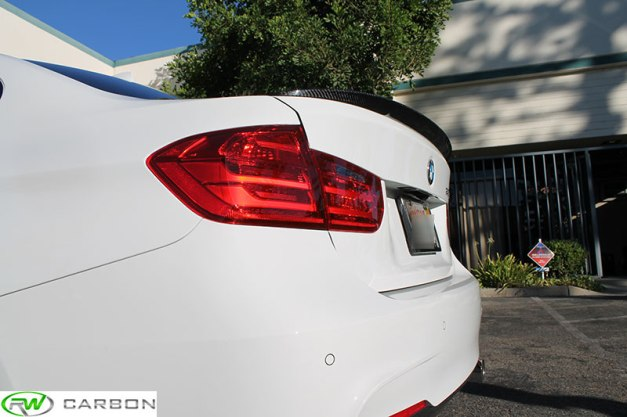 RW-Carbon-Fiber-BMW-Performance-Trunk-Spoiler-White-F30-335-2