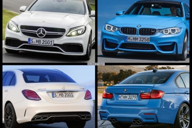 Bild-Vergleich-BMW-M3-F80-Mercedes-C63-S-AMG-Limousine-2014-05-750x500