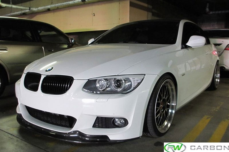 Bmw E92 335i Carbon Fiber Front Lip Welcome To The Rw
