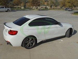 RW-Carbon-Fiber-Performance-Style-Trunk-Spoiler-BMW-F22-M235i-White-10
