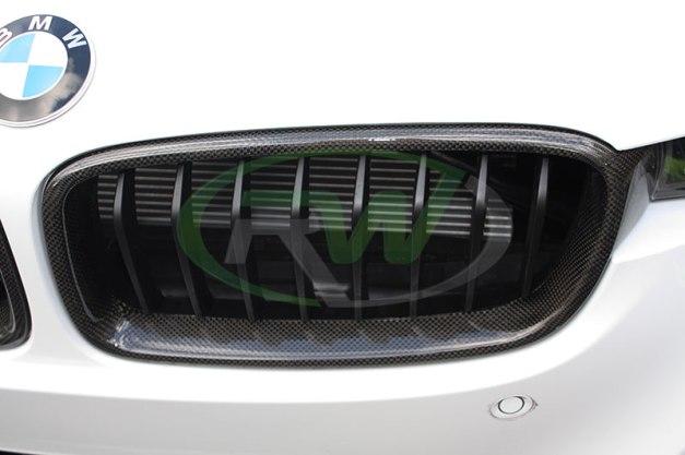 RW-Carbon-Fiber-Kidney-Grilles-BMW-F30-328d-1