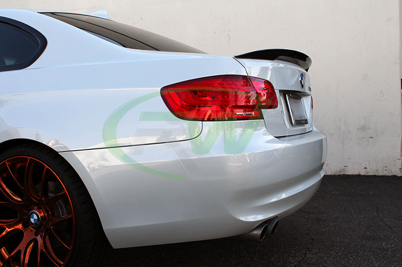 Carbon Fiber Performance Style Trunk Spoiler Welcome To