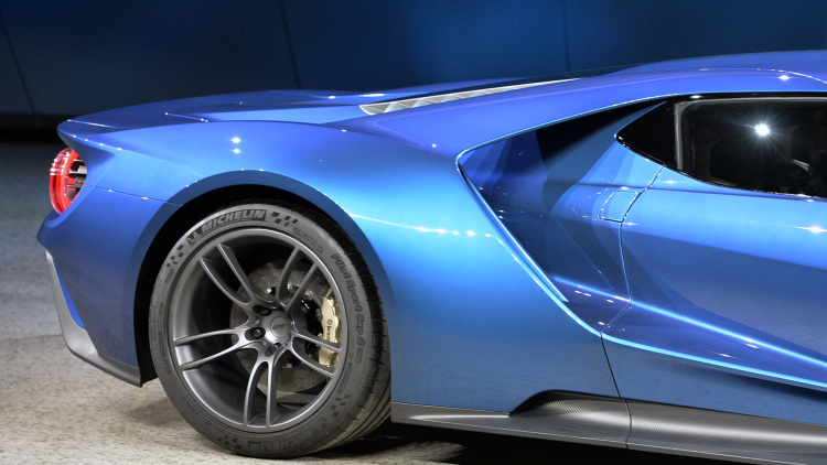 Ford Gt Concept Detroit