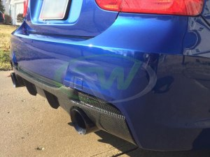 RW-Carbon-Fiber-Performance-Style-Rear-Diffuser-BMW-E90-335i-4