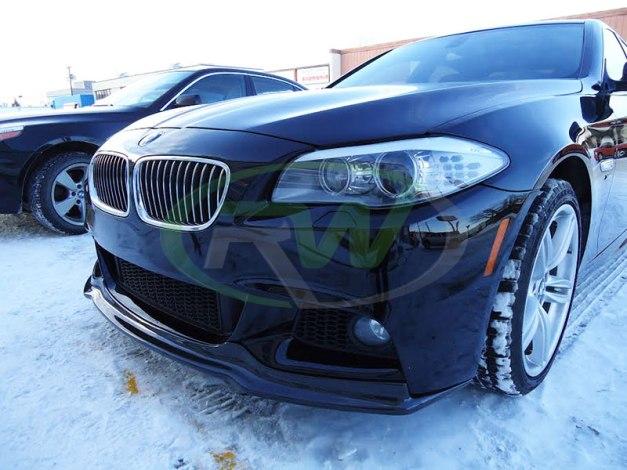RW-Carbon-Fiber-Arkym-Style-Front-Lip-Spoiler-BMW-F10-535i-1