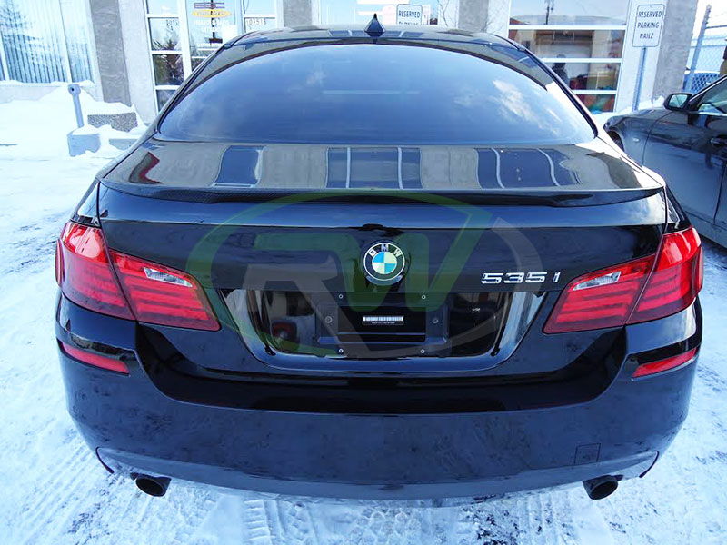 bmw f10 535i with some rw carbon aero parts welcome to. Black Bedroom Furniture Sets. Home Design Ideas