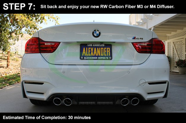 RW-Carbon-Install-Guide-BMW-F8X-M3-M4-Diffuser-7
