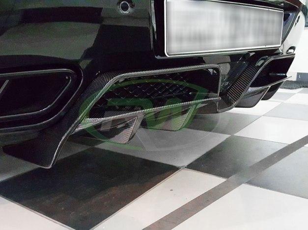 RW-Carbon-Fiber-Renn-Style-Diffuser-Mercedes-SLS-AMG-Black-1