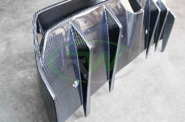 RW-Carbon-Fiber-Renntech-Style-Diffuser-Mercedes-SLS-AMG-8