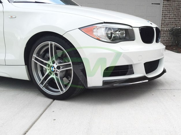 RW-Carbon-Fiber-Lip-BMW-E82-135i-white-1