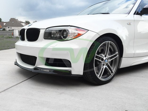 RW-Carbon-Fiber-Lip-BMW-E82-135i-white-2