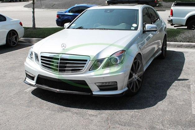 RW-Carbon-Fiber-Renn-Style-Front-Lip-Mercedes-E63-AMG-silver-10