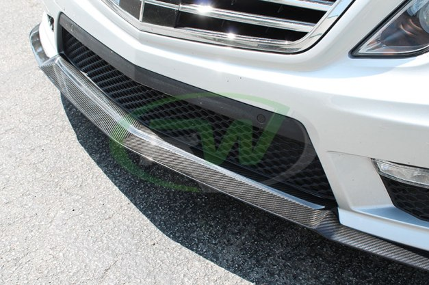 RW-Carbon-Fiber-Renn-Style-Front-Lip-Mercedes-E63-AMG-silver-6