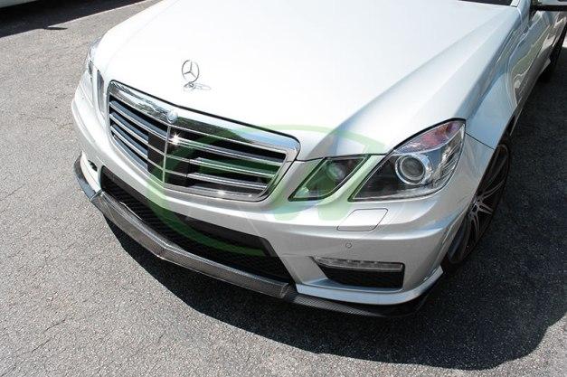 RW-Carbon-Fiber-Renn-Style-Front-Lip-Mercedes-E63-AMG-silver-8