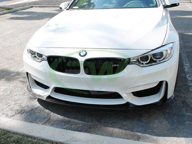 RW-Carbon-Fiber-3D-Style-Front-Lip-White-BMW-F82-M4-1