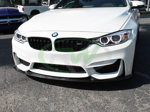 RW-Carbon-Fiber-3D-Style-Front-Lip-White-BMW-F82-M4-3