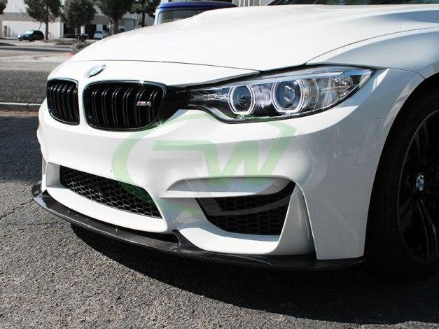 RW-Carbon-Fiber-3D-Style-Front-Lip-White-BMW-F82-M4-5