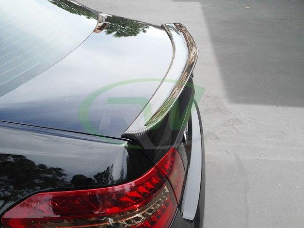 RW-Carbon-Fiber-DTM-Trunk-Spoiler-Mercedes-W212-1