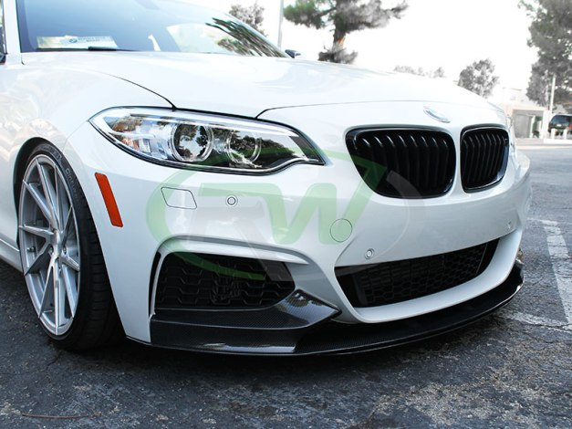 RW-Carbon-Fiber-Performance-Style-Front-Lip-BMW-F22-M235i-1