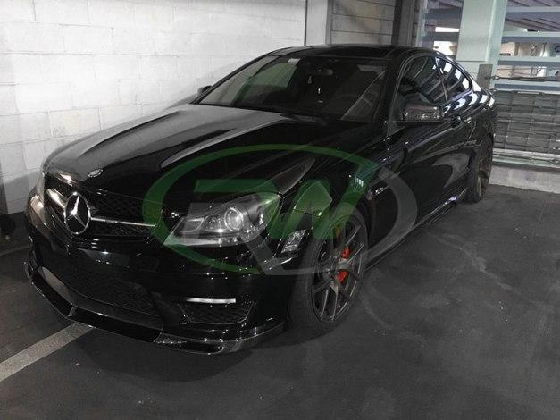 RW-Carbon-Fiber-DTM-Front-Lip-Mercedes-C63-AMG-1