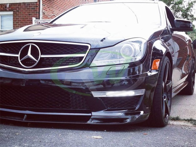 RW-Carbon-Fiber-DTM-Front-Lip-Mercedes-C63-AMG-W204-1