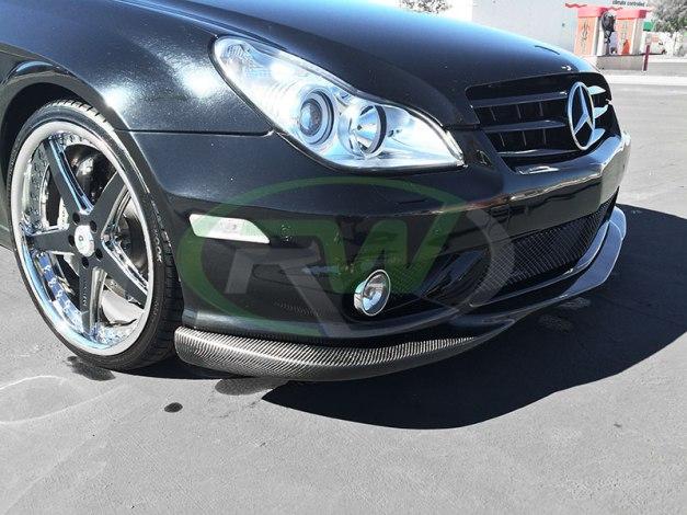 RW-Carbon-Fiber-Front-Lip-Mercedes-W219-CLS55-AMG-1