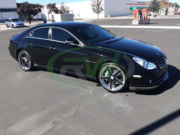 RW-Carbon-Fiber-Front-Lip-Mercedes-W219-CLS55-AMG-2