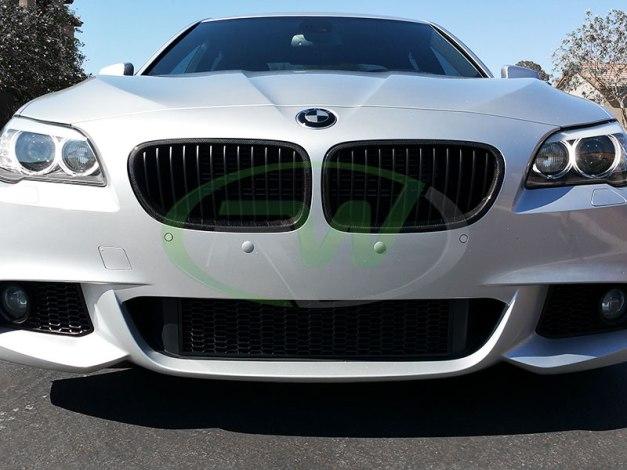 RW-Carbon-Fiber-Grilles-BMW-F10-550i-silver-1