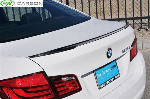 RW-Carbon-BMW-F10-5-Series-Performance-Style-Carbon-Fiber-Trunk-Spoiler-1