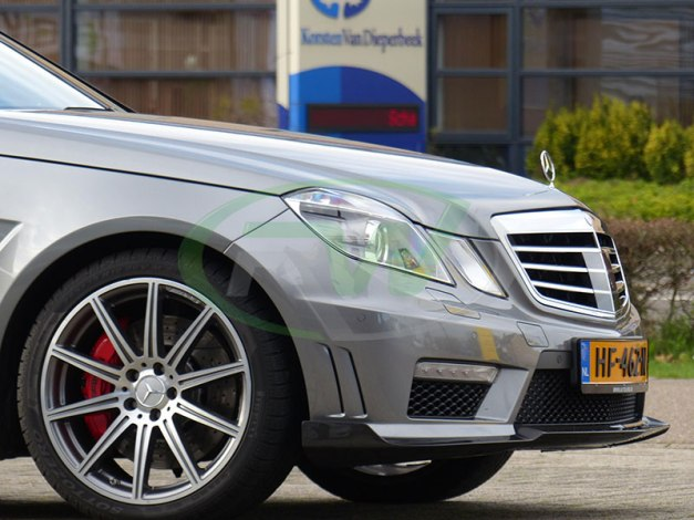 RW-Carbon-Fiber-Renn-Style-Front-Lip-Mercedes-W212-E63-AMG-grey-1