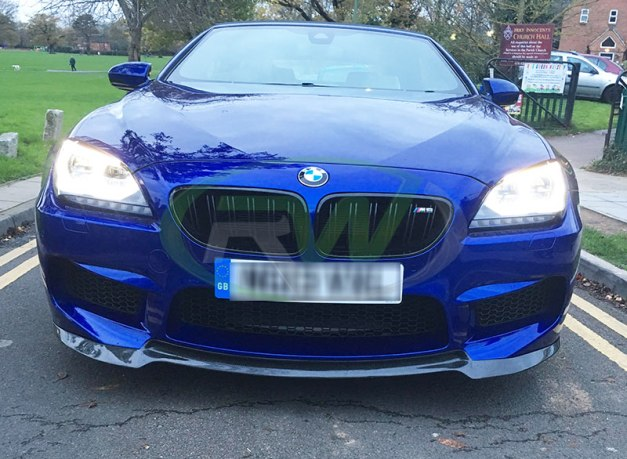 RW-Carbon-Fiber-DTM-Front-Lip-BMW-F12-M6-blue-1