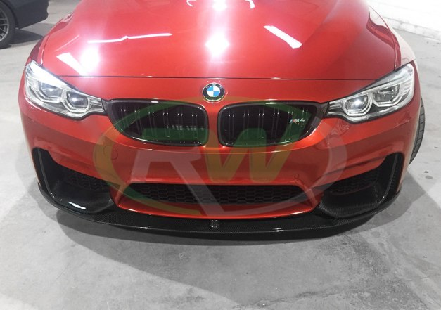 RW-Carbon-Fiber-Perf-Style-Front-Lip-BMW-F82-M4-red-1