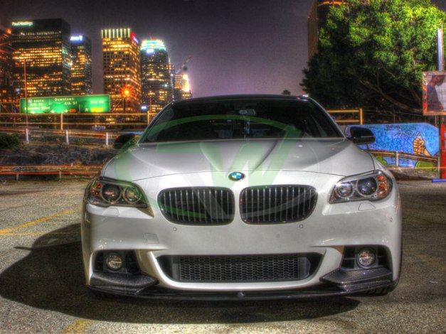 RW-Carbon-Fiber-Performance-Style-Front-Lip-BMW-F10-White-1