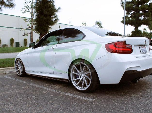 RW-Carbon-Fiber-Side-Skirt-Extensions-BMW-F22-M235i-White-3
