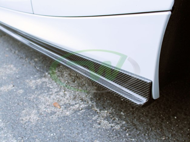 RW-Carbon-Fiber-Side-Skirt-Extensions-BMW-F22-M235i-White-5