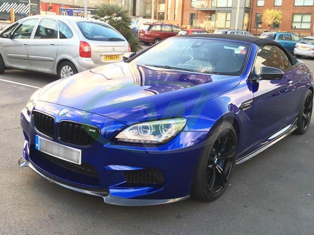 RW-Carbon-Fiber-DTM-Front-Lip-BMW-F12-M6-Blue-3