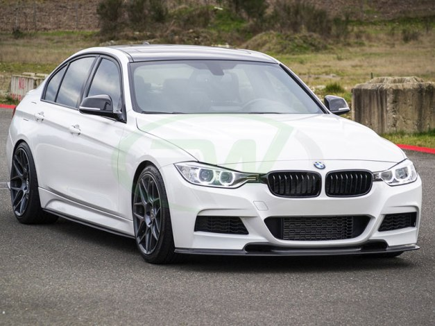RW-Carbon-Fiber-Varis-Style-Front-Lip-for-F30-328i-5