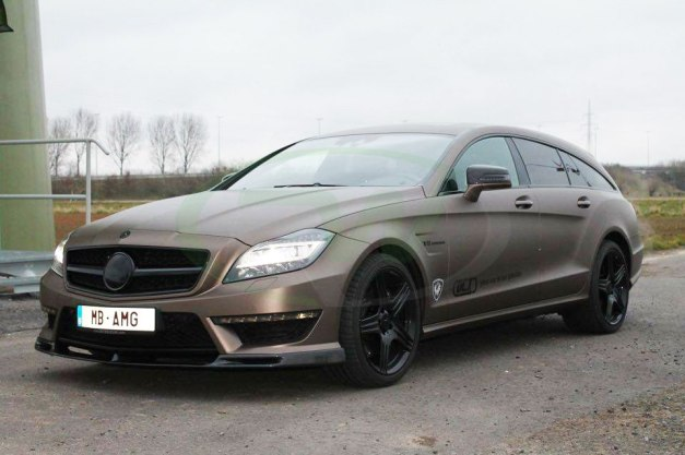 RW-Carbon-Fiber-DTM-Front-Lip-Mercedes-W218-CLS63-Brown1