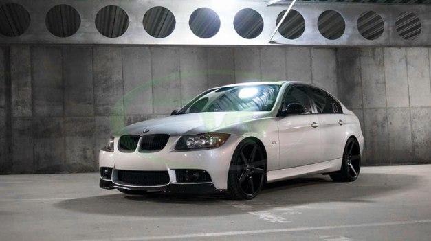 RW-Carbon-Fiber-V-Style-Lip-for-Silver-E90-M3-Bumper-2