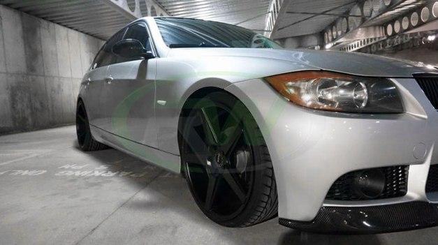 RW-Carbon-Fiber-V-Style-Lip-for-Silver-E90-M3-Bumper-3