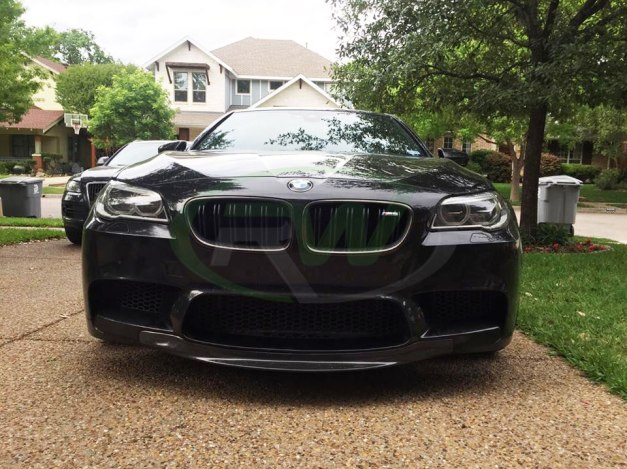 RW-Carbon-Fiber-Center-Front-Lip-Spoiler-BMW-F10-M5-2