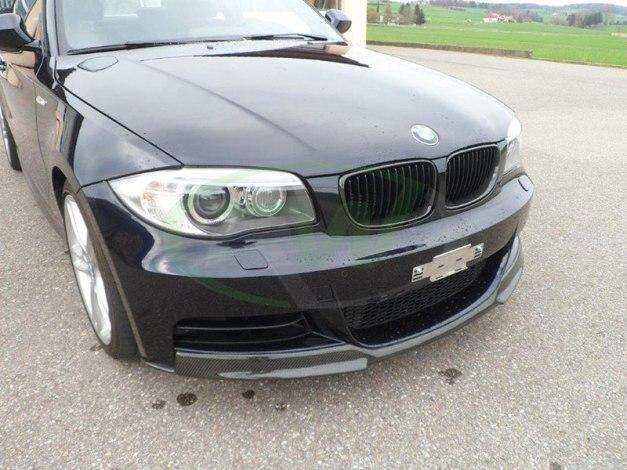 RW-Carbon-Fiber-Front-Lip-Spoiler-BMW-E82-135i-blk-2