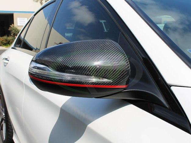 RW-Carbon-Fiber-Mirror-Caps-Mercedes-W205-C63-AMG-1