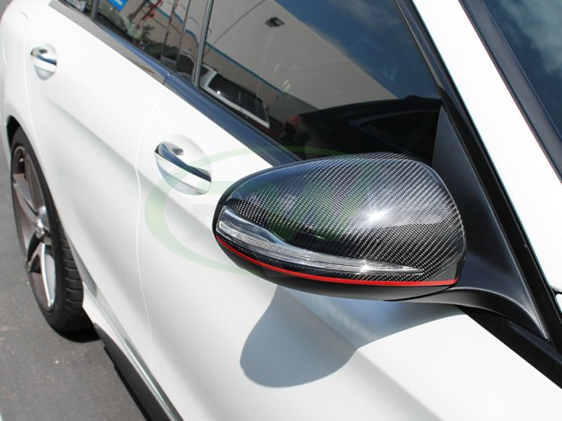 RW-Carbon-Fiber-Mirror-Caps-Mercedes-W205-C63-AMG-2