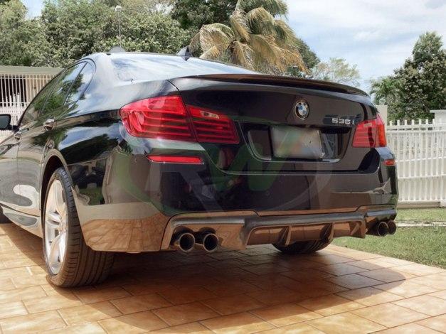RW-Carbon-Fiber-DTM-Diffuser-Black-BMW-F10-550i-3
