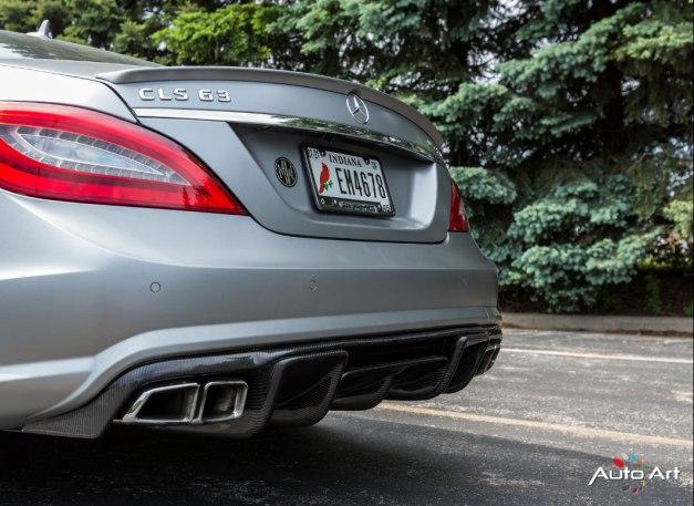 RW-Carbon-Fiber-Renn-Style-Diffuser-Mercedes-CLS63-AMG-Silver-2