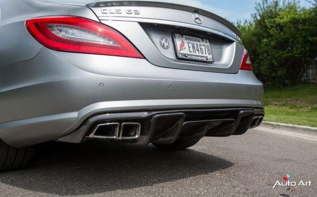 RW-Carbon-Fiber-Renn-Style-Diffuser-Mercedes-CLS63-AMG-Silver-4